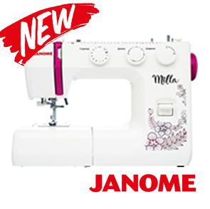 Новинки от лидера швейной техники JANOME - уже в продаже!