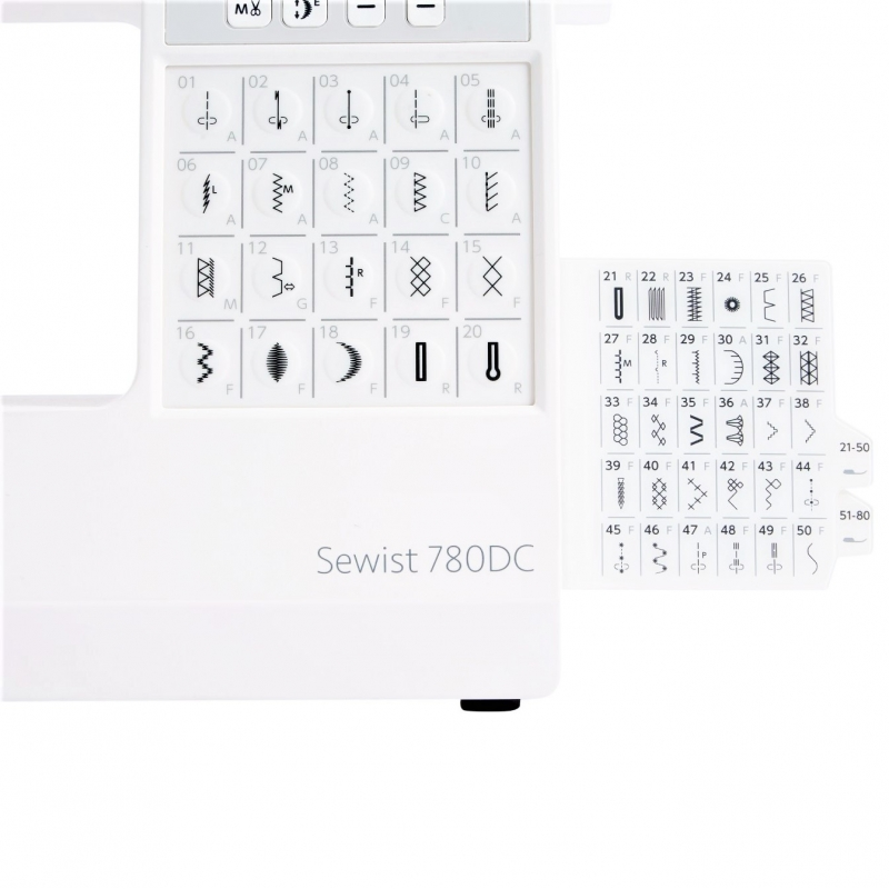 Швейная машина JANOME SEWIST 780 DC