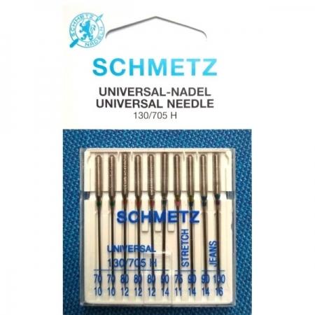 Голки асорті Schmetz Combi Box XVS №70-100 Max