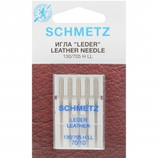 Иглы для кожи Schmetz Leather №70 фото