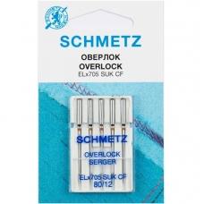 Иглы для оверлока Schmetz Overlock №80 фото