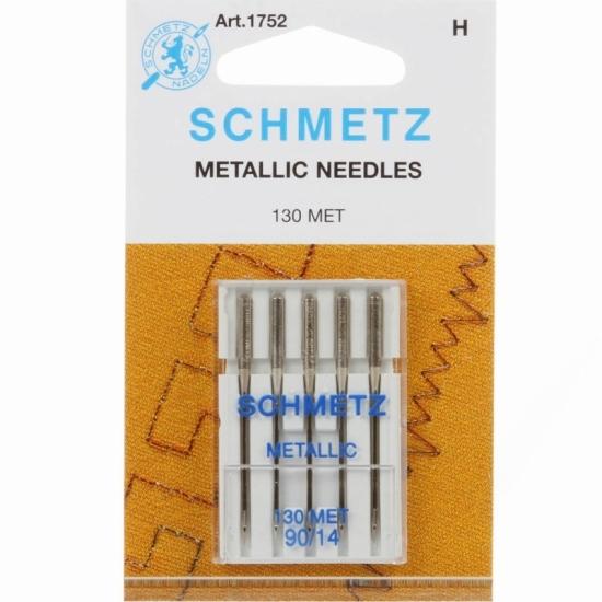 Голки для вишивання Schmetz Metallic №90