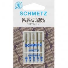 Иглы для трикотажа Schmetz Stretch №65-90 фото