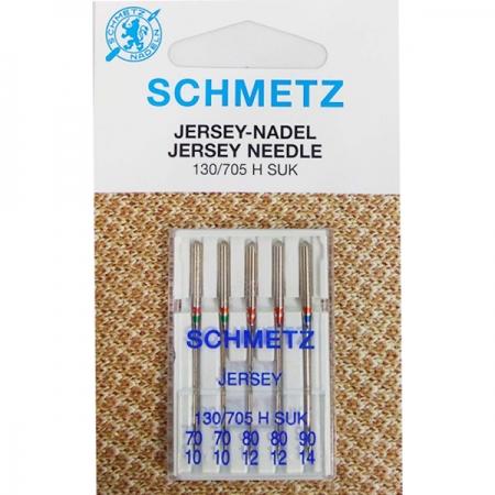Голки асорті Schmetz Jersey №70-90