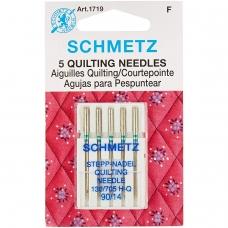 Голки для квілтінга Schmetz Quilting №90 фото