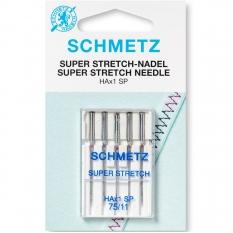 Иглы для стрейча Schmetz Super Stretch №75 фото