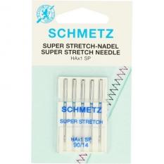 Иглы для стрейча Schmetz Super Stretch №90 фото