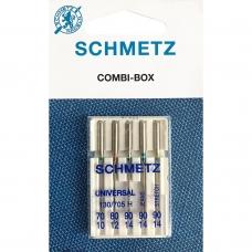 Иглы Schmetz Combi Mini универсальные №70-90 фото