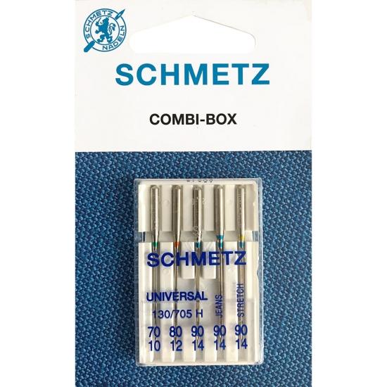 Иглы Schmetz Combi Mini универсальные №70-90