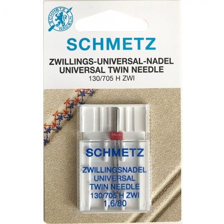 Голка подвійна універсальна Schmetz Twin Universal №80 / 1.6