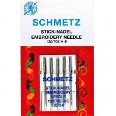 Иглы вышивальные Schmetz Embroidery №75 фото