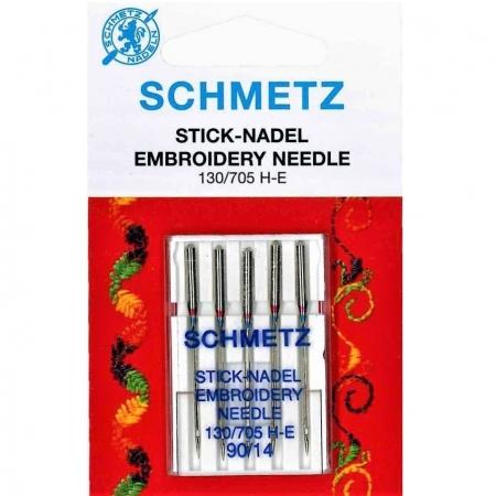 Голки для вишивання Schmetz Embroidery №90
