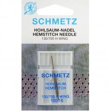Голка мережка Schmetz Wing №100 фото