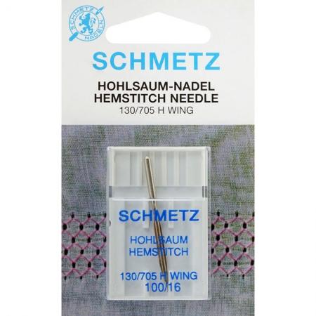 Голка мережка Schmetz Wing №100
