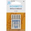 Иглы вышивальные Schmetz Metallic №90