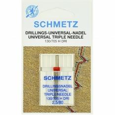 Игла тройная универсальная Schmetz Triple Universal №80/2,5 фото