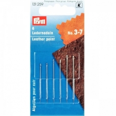 Голки для шкіри №3-7 Prym 131259 фото