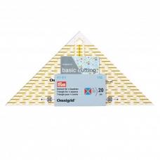 Треугольник 1/4 для пэчворка Prym 611313 фото