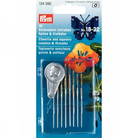 Ручні голки для вишивання Prym 124550