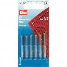 Иглы ручные для шитья №3-7 Prym 121294 фото