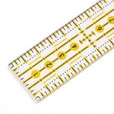 Лінійка для печворку 3 * 30 см Prym 611650 фото
