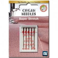 Голки для стрейча Organ Super Stretch 75-90 фото