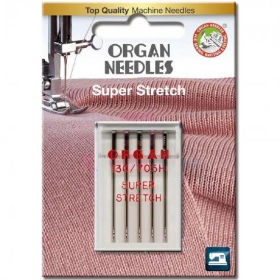 Голки для стрейча Organ Super Stretch №75