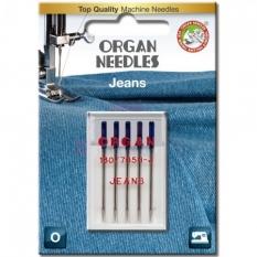 Иглы для джинса Organ Jeans №90 фото