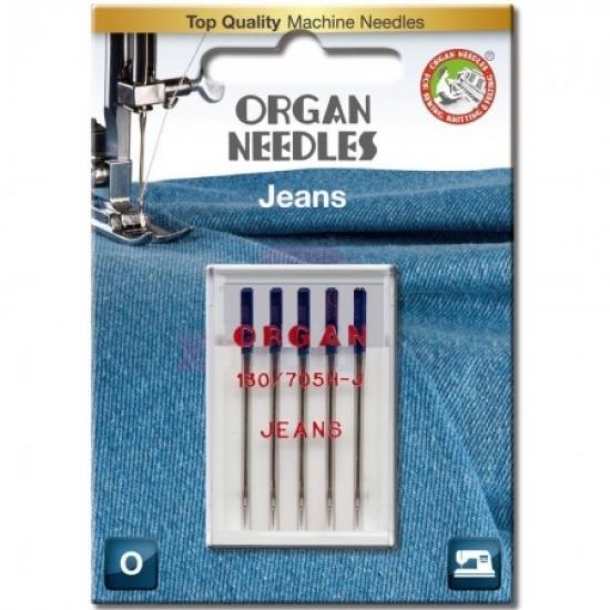 Голки для джинса Organ Jeans №90