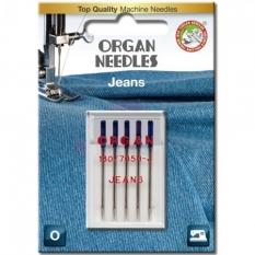 Иглы для джинса Organ Jeans №100 фото