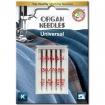 Иглы универсальные Organ Universal №70-100