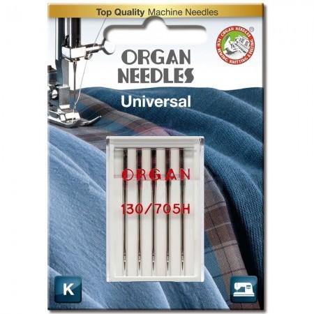 Иглы универсальные Organ Universal №60