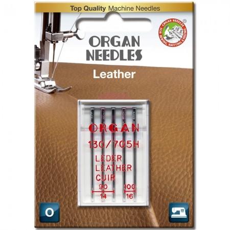 Голки для шкіри Organ Leather 90-100