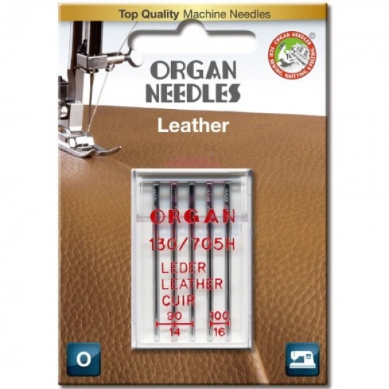 Иглы для кожи Organ Leather 90-100
