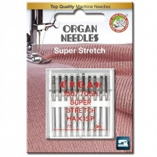 Иглы для стрейча Organ Super Stretch 75-90 10 штук фото