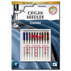 Иглы комбинированные Organ Combi-Box 10 штук фото