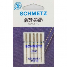 Иглы для джинса Schmetz Jeans №110 фото