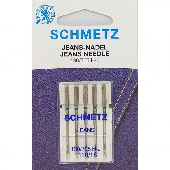 Иглы для джинса Schmetz Jeans №110