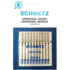 Иглы универсальные Schmetz Universal №70-90 Max фото