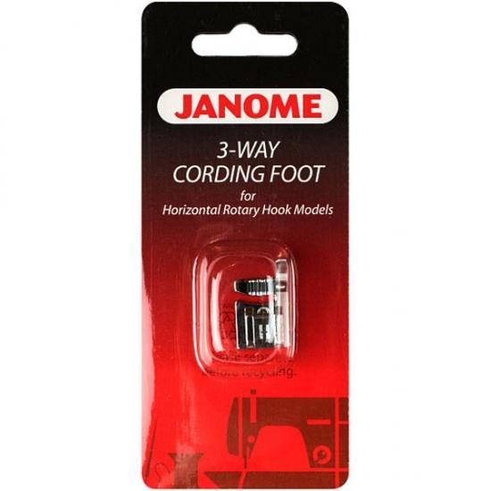 Лапка 3-х жолобкова Janome 200345006