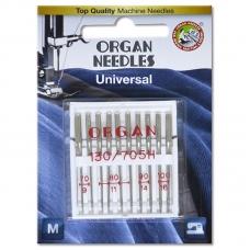 Иглы универсальные Organ Universal №70-100 ассорти 10 штук фото
