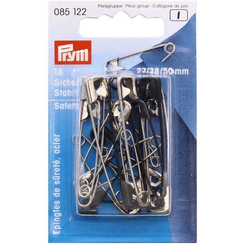 Англійські шпильки Prym 085122 сталеві №0,2,3