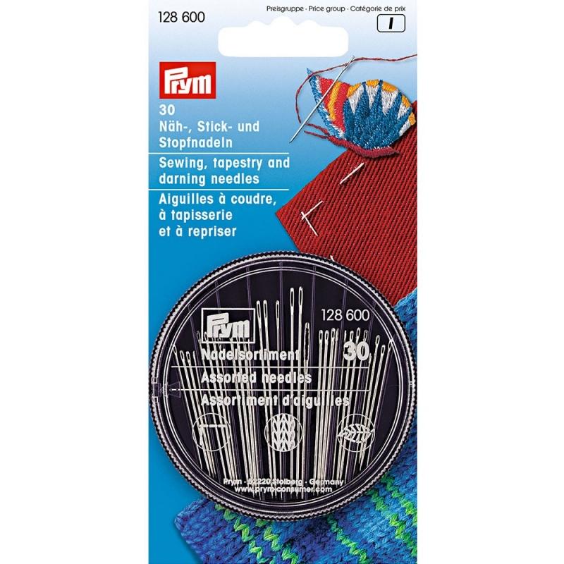 Голки Prym 128600 швейні, вишивальні та штопальні