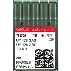 Голки промислові Groz-Beckert UY128GAS SES №75 фото