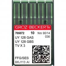 Иглы промышленные Groz-Beckert UY128GAS SES №90 фото
