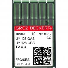 Голки промислові Groz-Beckert UY128GAS SES №80 фото