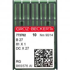 Голки промислові Groz-Beckert DCx27 RG №90 фото