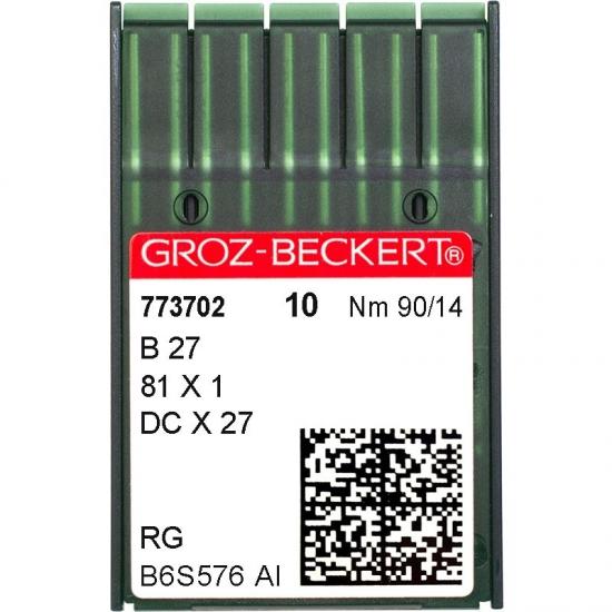 Иглы промышленные Groz-Beckert DCx27 RG №90