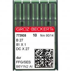 Иглы промышленные Groz-Beckert DCx27 SES №90 фото