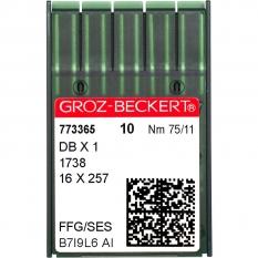 Голки промислові Groz-Beckert DBx1 SES №75 фото